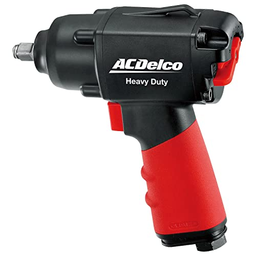 ACDelco BLOW-OUT OFFER 3 8 Inch Heavy Duty Air Impact Wrench with Composite Body and Comfort Grip, ANI307