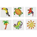 Tropical Tattoos (6 Dozen) - BULK