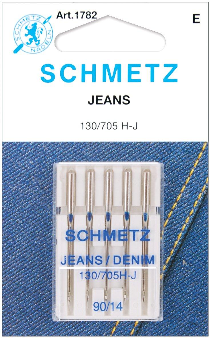 Euro-Notions Jean /& Denim Machine Needles-Size 14//90 5//Pkg