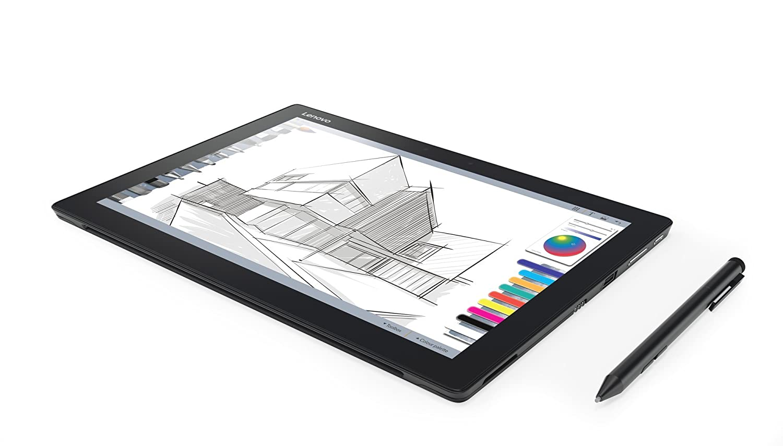 Lenovo Miix 720 30,48 cm (12 pulgadas QHD IPS) Tablet PC (Intel Core i5 – 7200u, 8 GB de RAM, 256 GB SSD, Intel HD Gráficos 620, Windows 10 Pro) Negro ...
