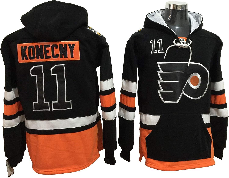 Konecny 11 Flyers Hockey Hoodie Men Onesie Sweatshirt Champion Tank top Sweaters Pullover Jersey