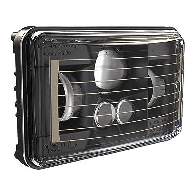 JW Speaker 0552671 Black Beam Heated Headlight: Automotive