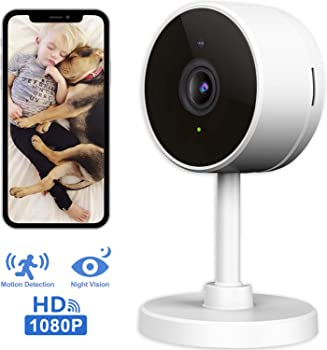 Larkkey HD 1080p Smart Wi-Fi Home Security Surveillance Camera