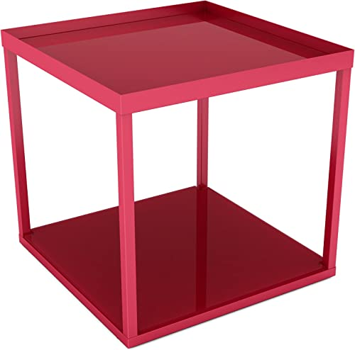dar Living Modular Side Table, Red