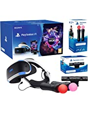 "PlayStation VR2 (CUH-ZVR2) ""Starter Plus Pack"" + VR Worlds + Mandos Move Twin pack + Camara V2"