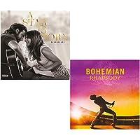 A Star Is Born (Lady Gaga) - Bohemian Rhapsody (Queen) - Greatest Hits 2 CD Soundtrack Bundling