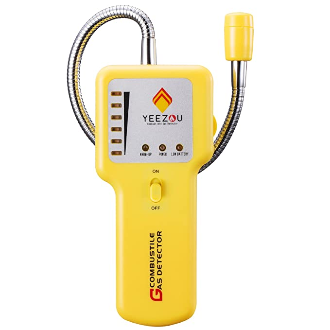 Amazon.com: Techamor - Detector de alarma de gas natural ...