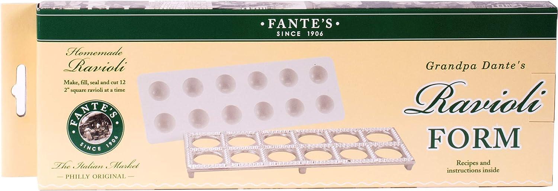 Fantes Ravioli Maker, Makes 1 Dozen Raviolis, The Italian Market Original since 1906