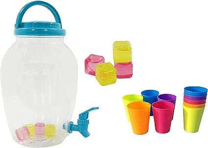 Getränkebehälter Getränkespender 3,5 Liter Wasserkanister Wasserbehälter faltbar