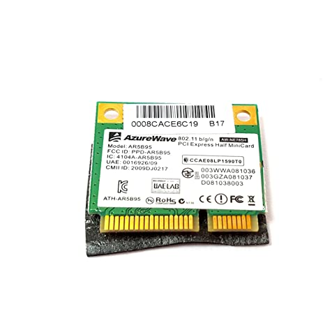 TRP Tarjeta WiFi ASUS EEE PC 1015CX WiFi Card AzureWave ...