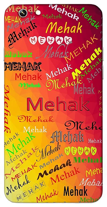 Mehak Sweet Smell Aura Fragrance Name Sign Printed All Over Customize