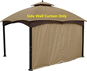 APEX GARDEN Universal 12-ft Privacy Panel Curtain/Side Wall Sunshade (One Side Only)