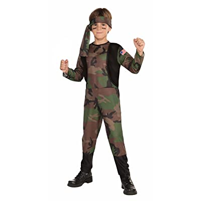 Forum Novelties Camo Soldier Costume, Child Medium: Toys & Games