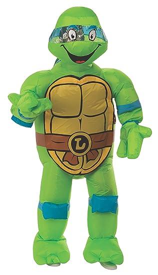Rubies Costume Co. Mens Teenage Mutant Ninja Turtles Leonardo Inflatable Costume