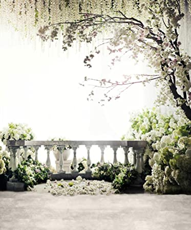 8x10 Ft Scenic Photography Backdrops Wedding Background For Photo Studio Romantic Spring Floral Tree Flowers Booth Shoot Prop 6942 8