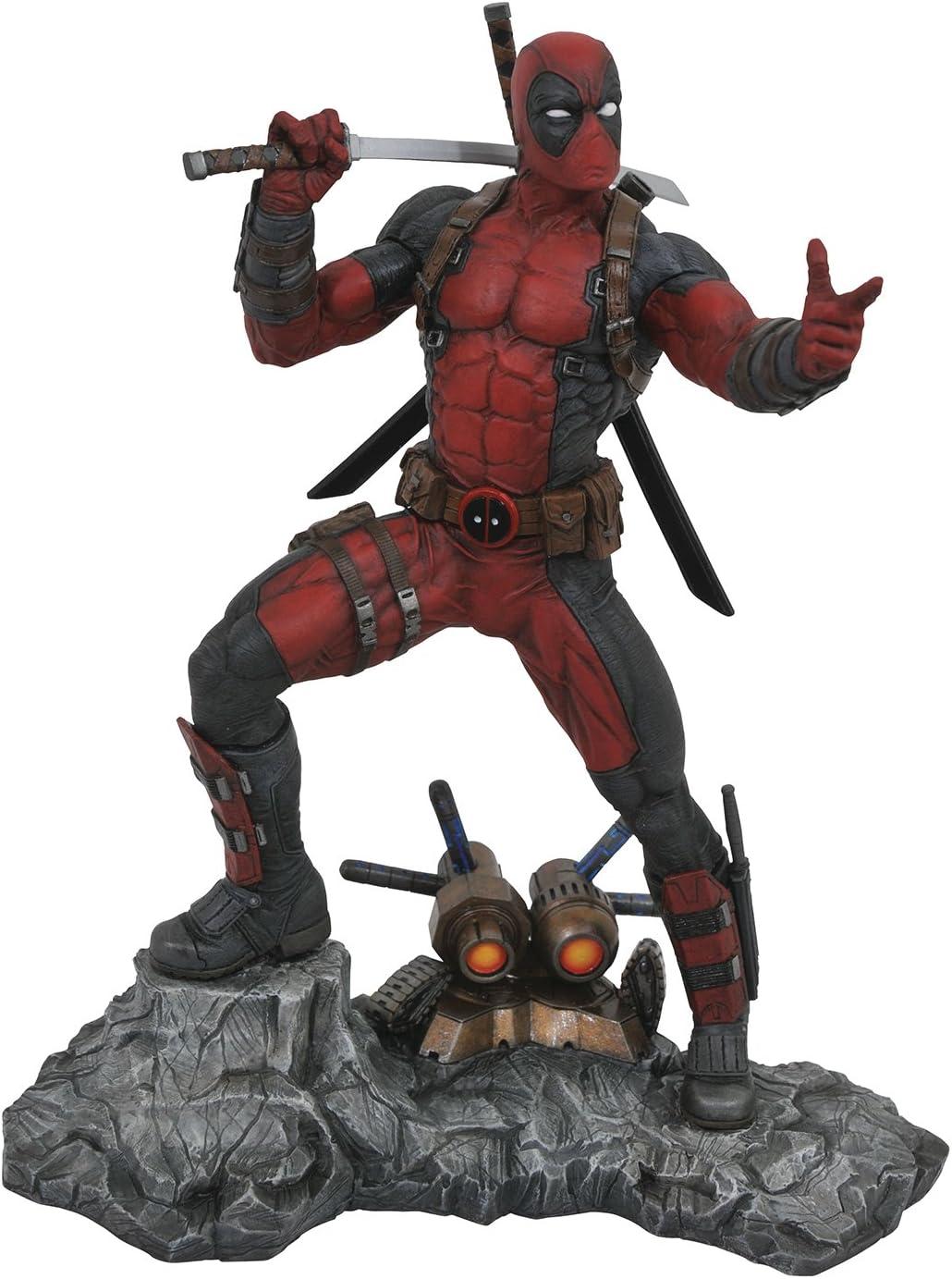 Marvel Select Deadpool Action Figure Statue Figurines Collectors Edition