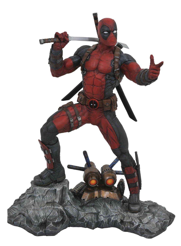 venta con descuento Marvel Deadpool Premier Premier Premier Collection Resin Estatua  marcas de moda