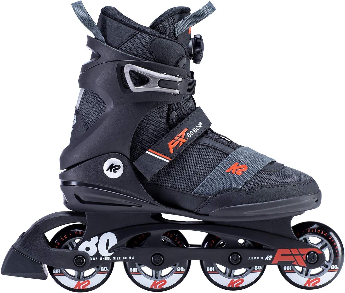 80 Boa Inline Skates K2 F.I.T