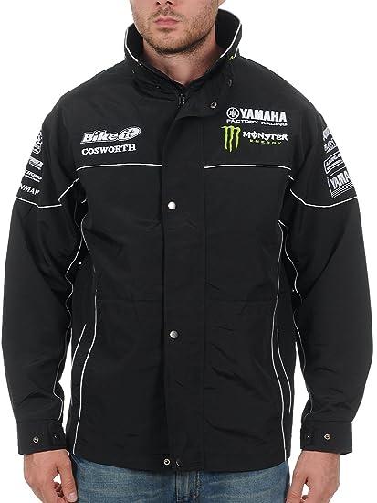 Chaqueta Yamaha Monster Energy Racing Paddock Negro: Amazon ...