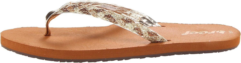 Reef Twisted Stars Sandal Reef Kids Footwear LITTLE TWISTED STARS K Toddler//Little Kid//Big Kid