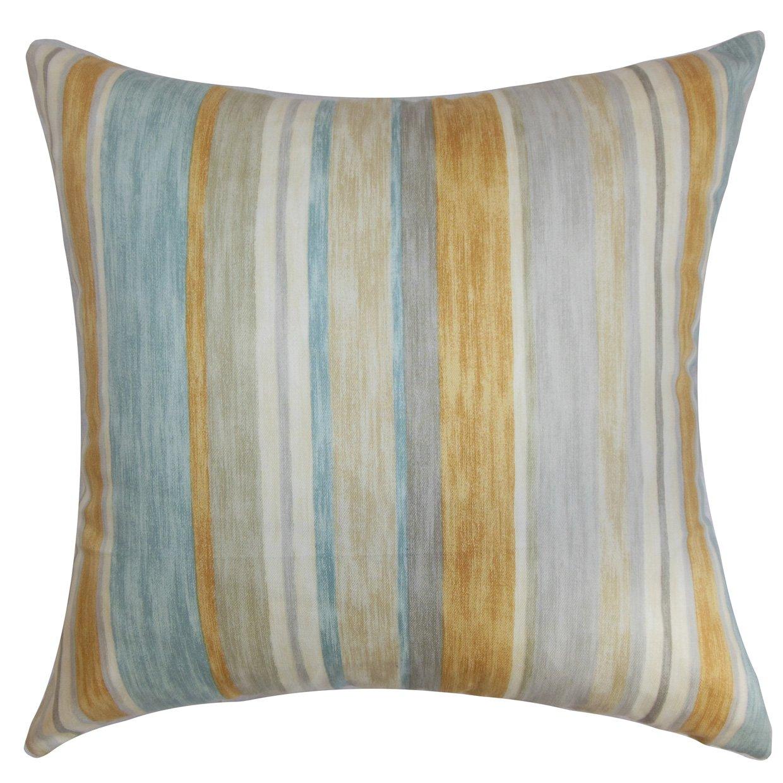 The枕コレクションNarkeasha Stripes Natural Aqua枕、20
