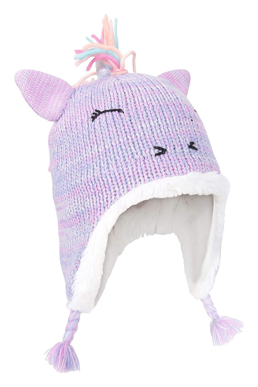 Warm Hat for Boys /& Girls Mountain Warehouse Unicorn Kids Hat