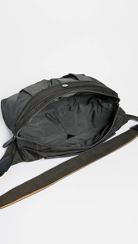 One Size Beluga//Black Mismo Mens M//S Passage Crossbody