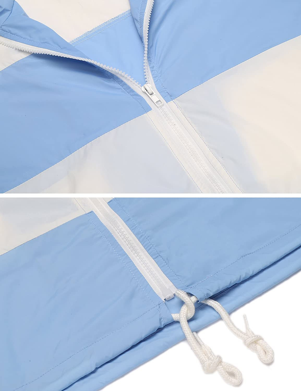 Guteer Womens Zip Front Long Sleeve Top Rashguard Swimsuit Outdoor UV Sun Protection