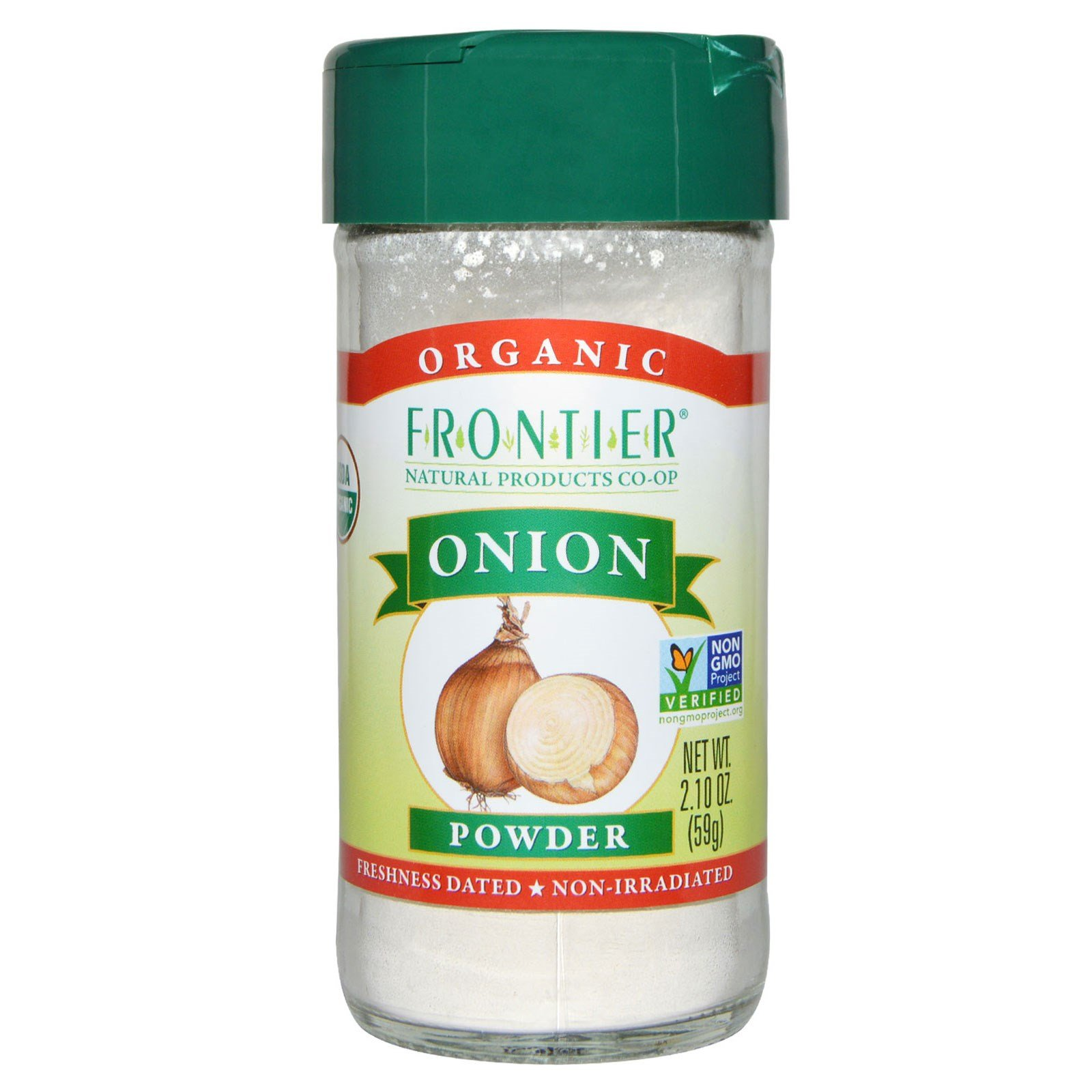 Frontier Natural Products, Organic Onion Powder, 2.10 oz (59 g)