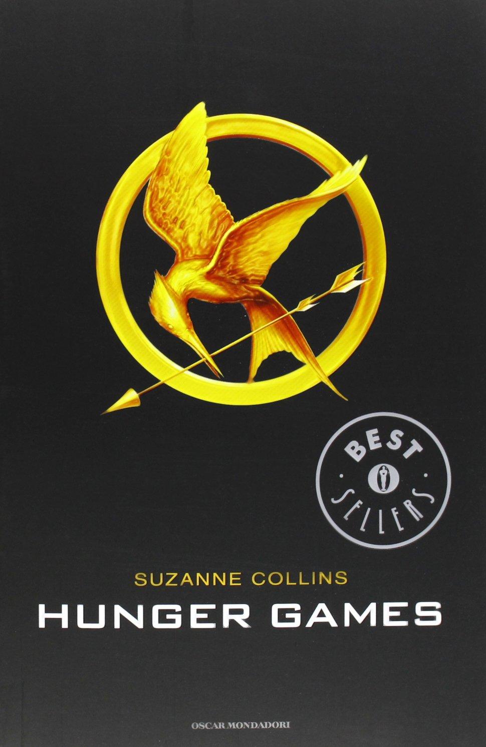 Risultati immagini per hunger games copertina