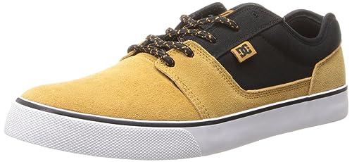 DC Shoes - Zapatillas de Skate de Cuero para Hombre: Amazon.es: Zapatos y complementos