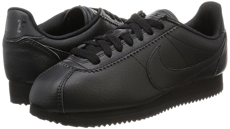 ladies nike leather trainers