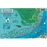 Florida Keys Dive Map & Reef Creatures Guide Franko Maps Laminated Fish Card