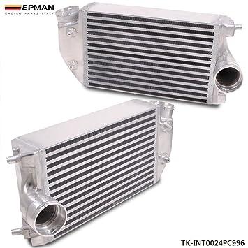 epman doble aleación de aluminio Turbo Intercooler Kit Par Izquierda & derecha para Porsche 911 996