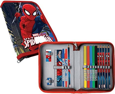 Estuche Spiderman Marvel completo: Amazon.es: Bebé