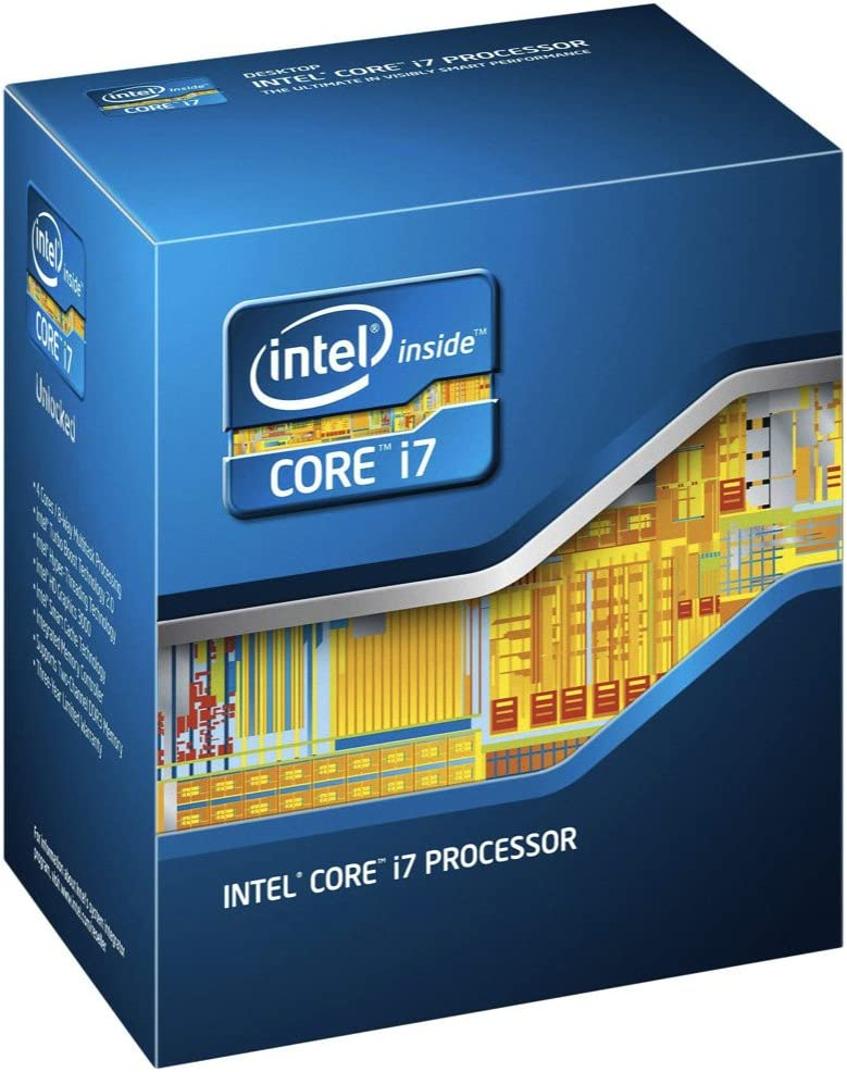 Intel Core i7-3770 Quad-Core Processor 3.4 GHz 4 Core LGA 1155