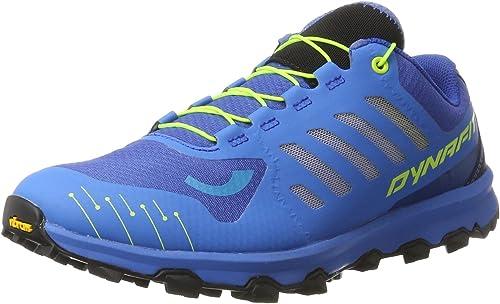 Dynafit Ms Feline Vertical, Zapatillas de Running para Asfalto para Hombre, Azul (Sparta Blue/Fluo Yellow), 39 EU: Amazon.es: Zapatos y complementos