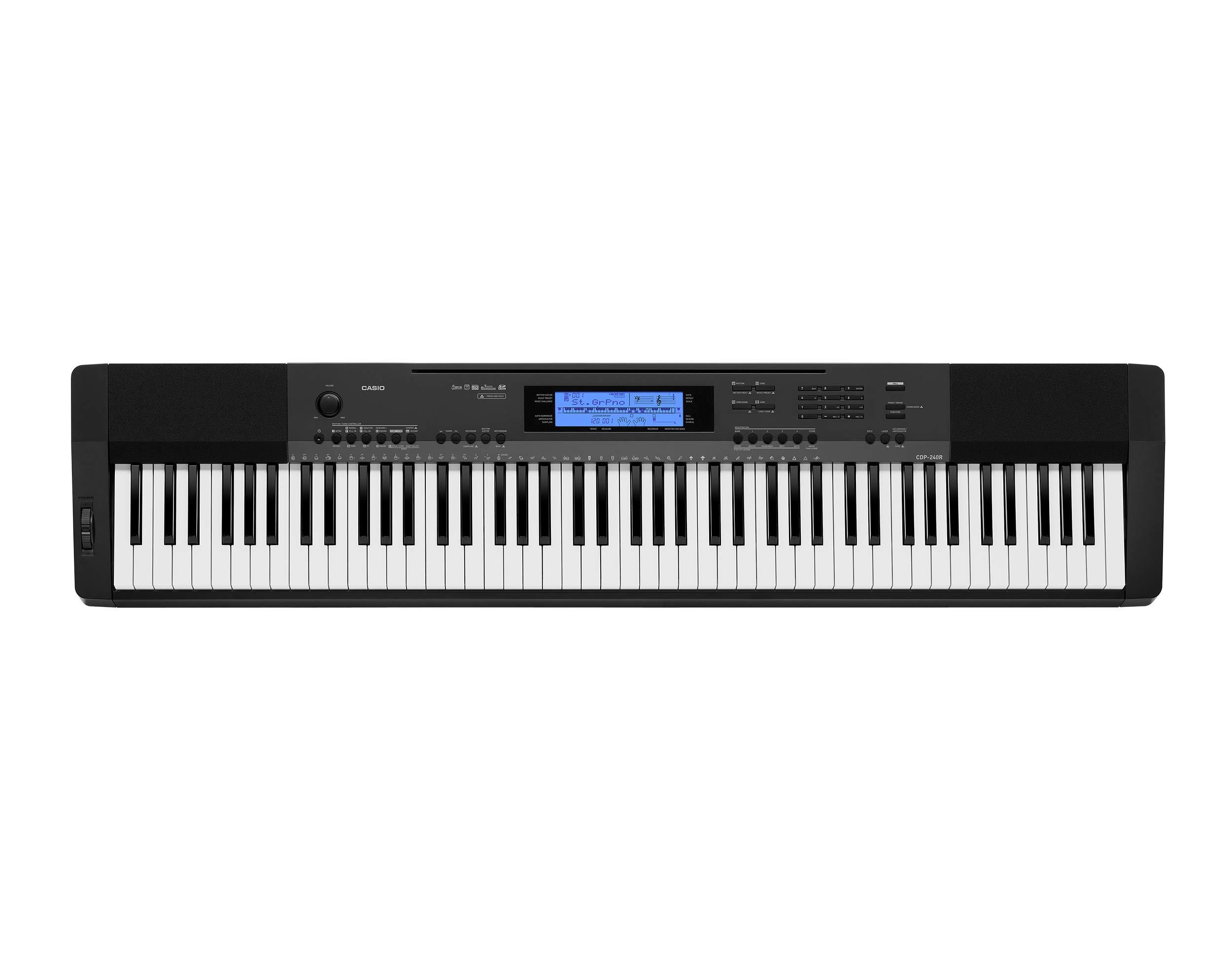 Casio CDP-240 88-Key Digital Piano (Amazon Exclusive) by Casio