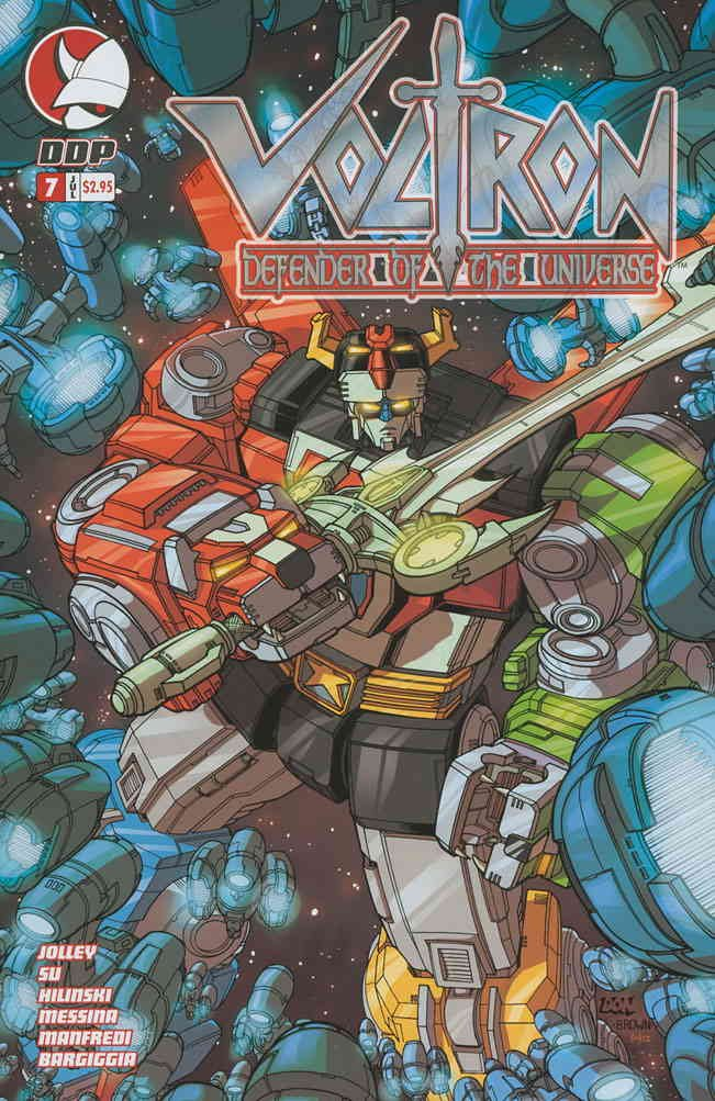 Voltron: Defender of the Universe (Vol. 2) #7 VF/NM ; Devil's Due comic book