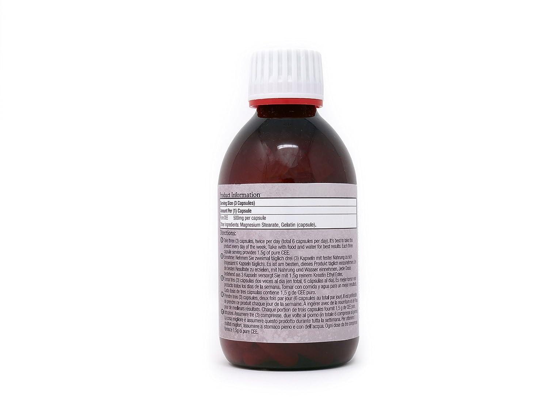 Creatina Etil Éster en Cápsulas CEE 500 mg Pastillas de Rápida Absorción 90 Comprimidos con Hasta un 30% de Descuento en la Compra de Varios Frascos VER A ...