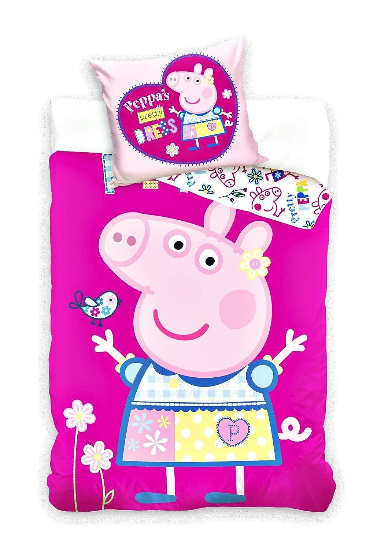 Unbekannt Peppa Pig Linge de Lit Peppa Cochone Pp182021