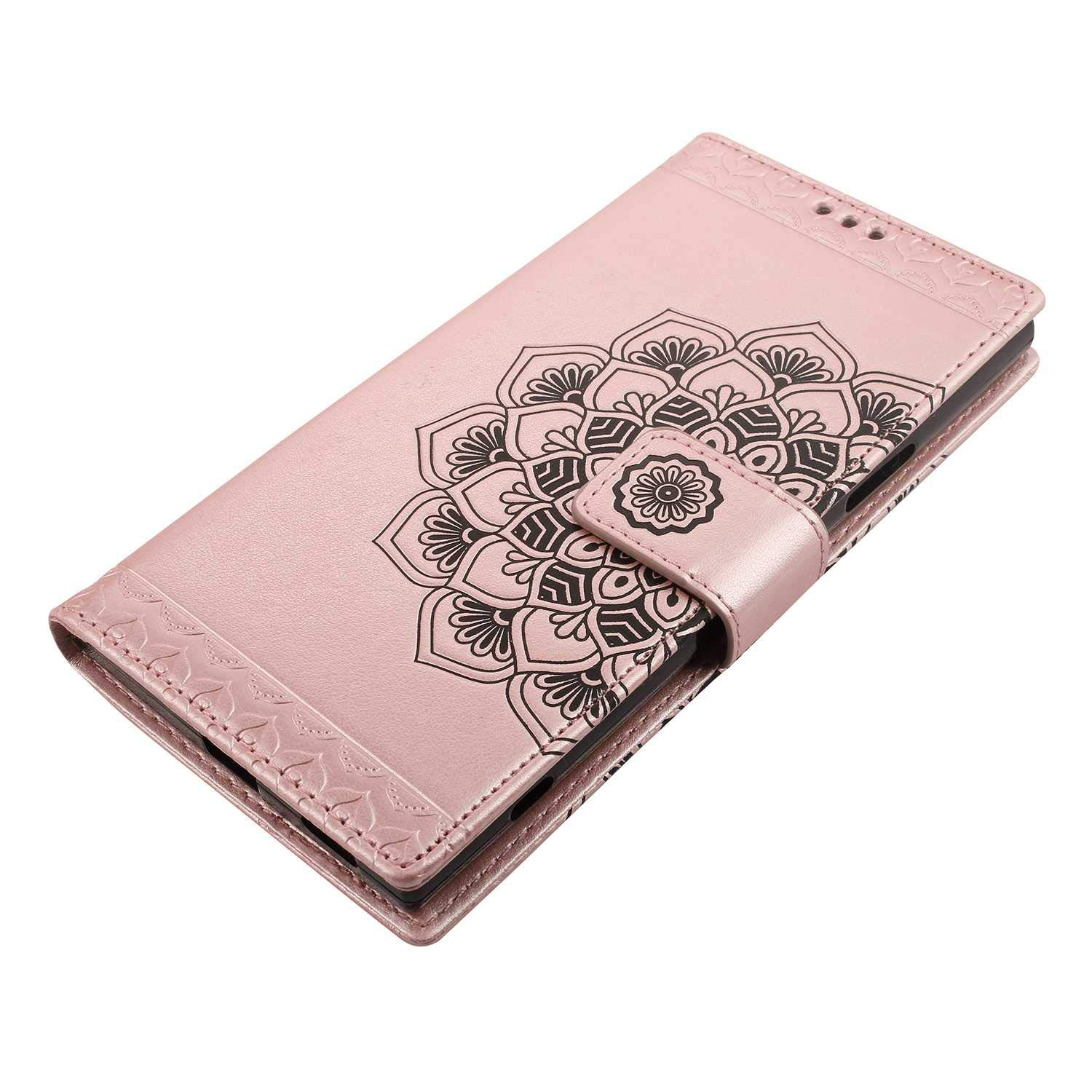 Sony Xperia XA2 Ultra Case The Grafu Flip Leather Wallet Cover Card Slot Holder with Kickstand and Metal Magnetic Closure for Sony Xperia XA2 Ultra Gray