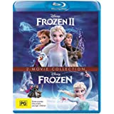 Frozen 1 & 2 - 2 Movie Collection Box Set Duo Blu-ray