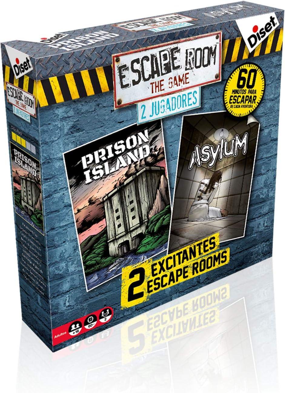 Diset - Escape Room Dos Jugadores - Juego de mesa adulto a partir de 16 años