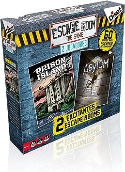 Diset - Escape Room II Jugadores Juego, Multicolor, 62328: Amazon.es: Juguetes y juegos