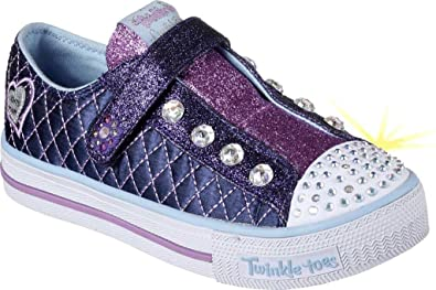 e66dd2edc5be SKECHERS KIDS Girl s Twinkle Toes - Sparkly Jewels 10689L Lights ...