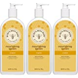 Burt's Bees Baby Nourishing Lotion, Original, 12 Ounces (Pack of 3)
