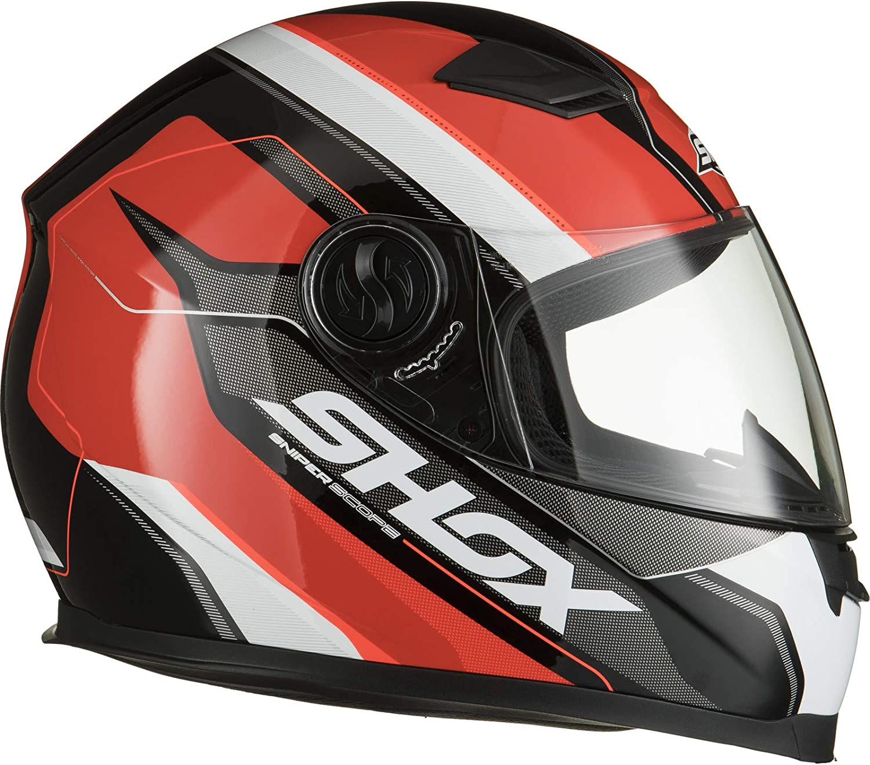 Shox Sniper Scope Motorcycle Helmet