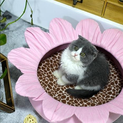 Felpudo Redondo De Cama De Gato - Material Muebles Eco-Cat Cat & Cat Lounge
