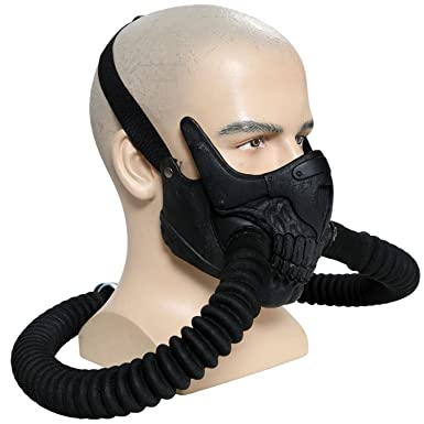 Mad joe max mask cosplay cool pvc half face gas mask halloween prop mad joe max mask cosplay cool pvc half face gas mask halloween prop voltagebd Images